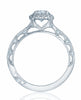 Tacori Reverse Crescent Engagement Ring 2618OV8x6W