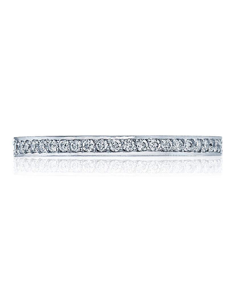 Tacori Dantela Wedding Band Medium 2630BMDP1/2W