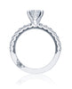 Tacori 33-2.5RD7W Clean Crescent Engagement Ring 33-2.5RD7W (Choose free two-day shipping at checkout)