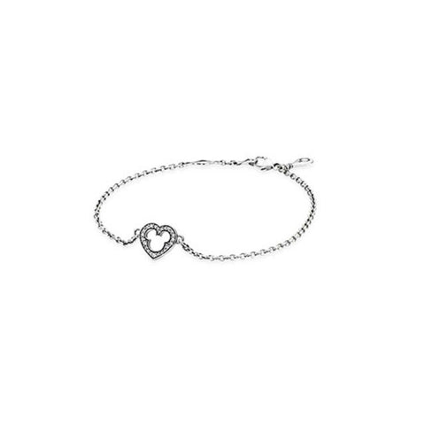 PANDORA Disney Mickey Sterling Silver Bracelet with CZ. Size 20. 590512CZ-20 (Choose free two-day shipping at checkout)
