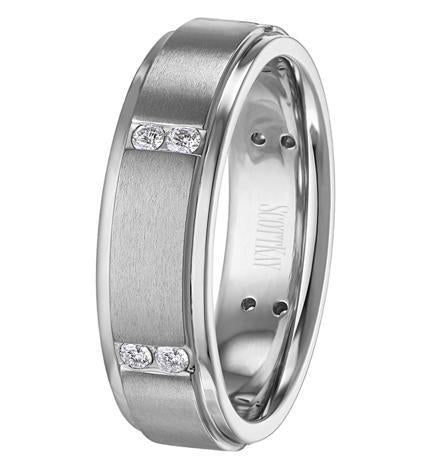 SCOTT KAY MEN'S CLASSIC BAND C0670RDC65A6