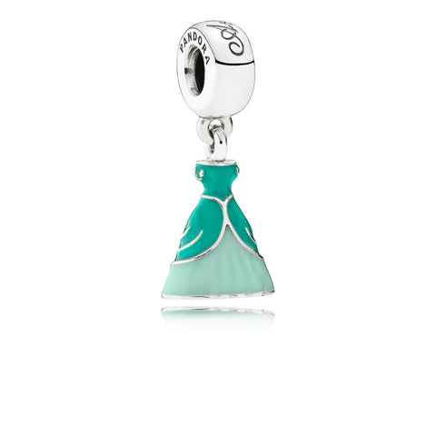 Pandora 791577ENMX Disney Sterling Silver Ariel Dress with Enamel. (Choose free two-day shipping at checkout)