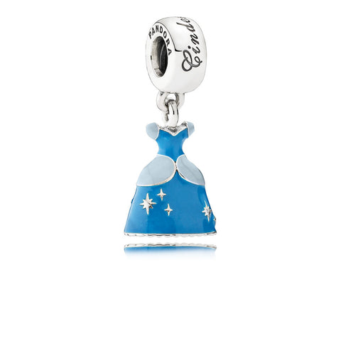 Pandora 791578ENMX Disney Sterling Silver Cinderella Dress with Enamel. 791578ENMX (Choose free two-day shipping at checkout)