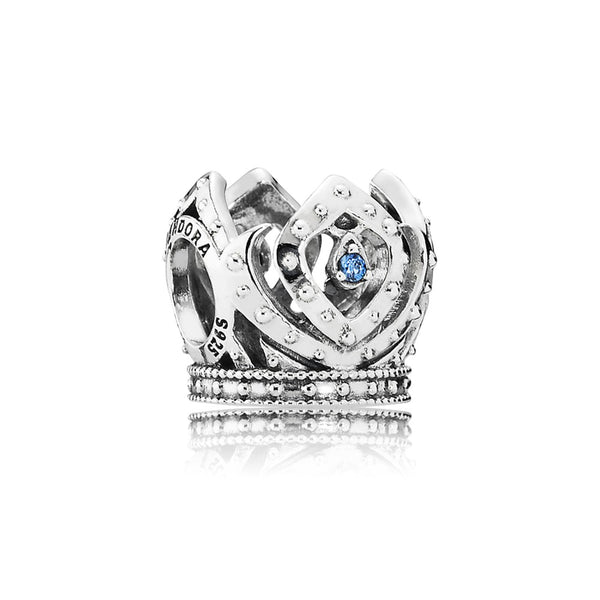 PANDORA Disney Sterling Silver Elsa Crown with CZ. 791588CZB (Choose free two-day shipping at checkout)