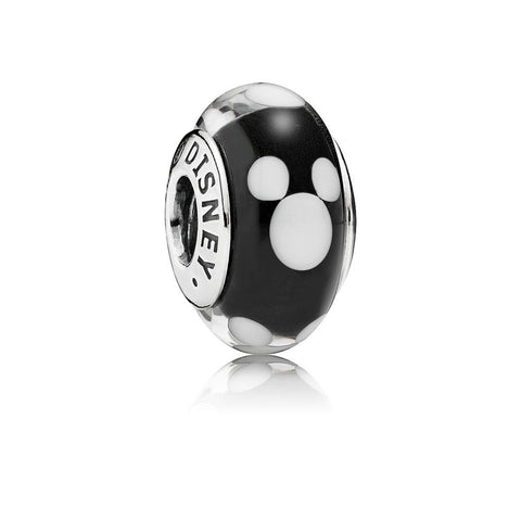 Pandora 791633 Disney Sterling Silver Classic Mickey Murano Bead. (Choose Free Two-Day Shipping at Checkout)
