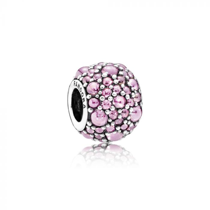 Pandora Shimmering Droplets, Pink CZ. 791755PCZ (Choose free two-day shipping at checkout)