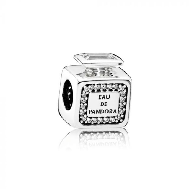 PANDORA Sterling Silver Signature Scent, Clear CZ. 791889CZ (Choose free two-day shipping at checkout)