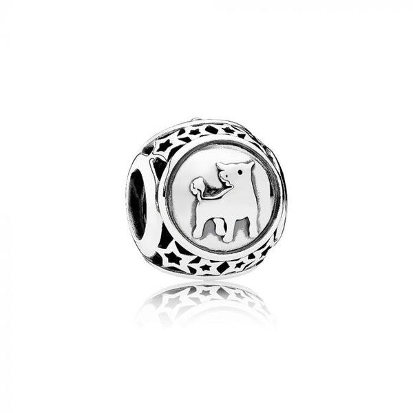 PANDORA Sterling Silver Taurus Star Sign. 791937 (Choose Free Two-Day Shipping at Checkout)