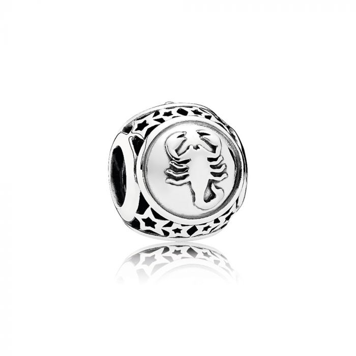 PANDORA Sterling Silver Scorpio Star Sign. 791943 (Choose Free Two-Day Shipping at Checkout)