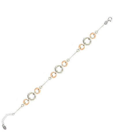 Frederic Duclos BR1024 Sterling Silver Bracelet (Choose free two-day shipping at checkout)