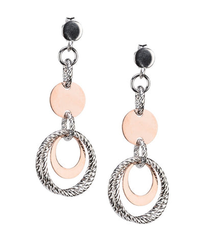 Frederic Duclos E701 Pair of Sterling Silver Earrings (Choose free two-day shipping at checkout)