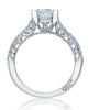 Tacori Classic Crescent Engagement Ring HT2513RD6.51/2W