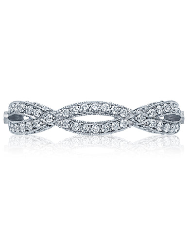 Tacori Ribbon Eternity Band HT2528BW