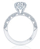 Tacori Classic Crescent Engagement Ring HT2553RD8W