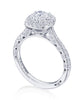 Tacori Petite Crescent Engagement Ring HT2571CU7.5 (Choose free two-day shipping at checkout)