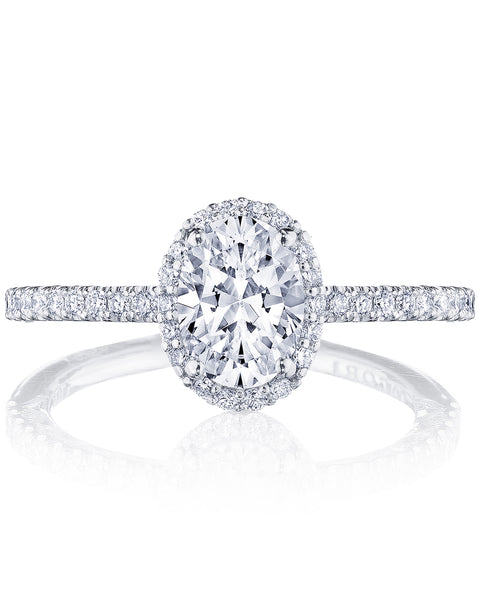 Tacori Petite Crescent Engagement Ring HT25721.5OV8X6 (Choose free two-day shipping at checkout)