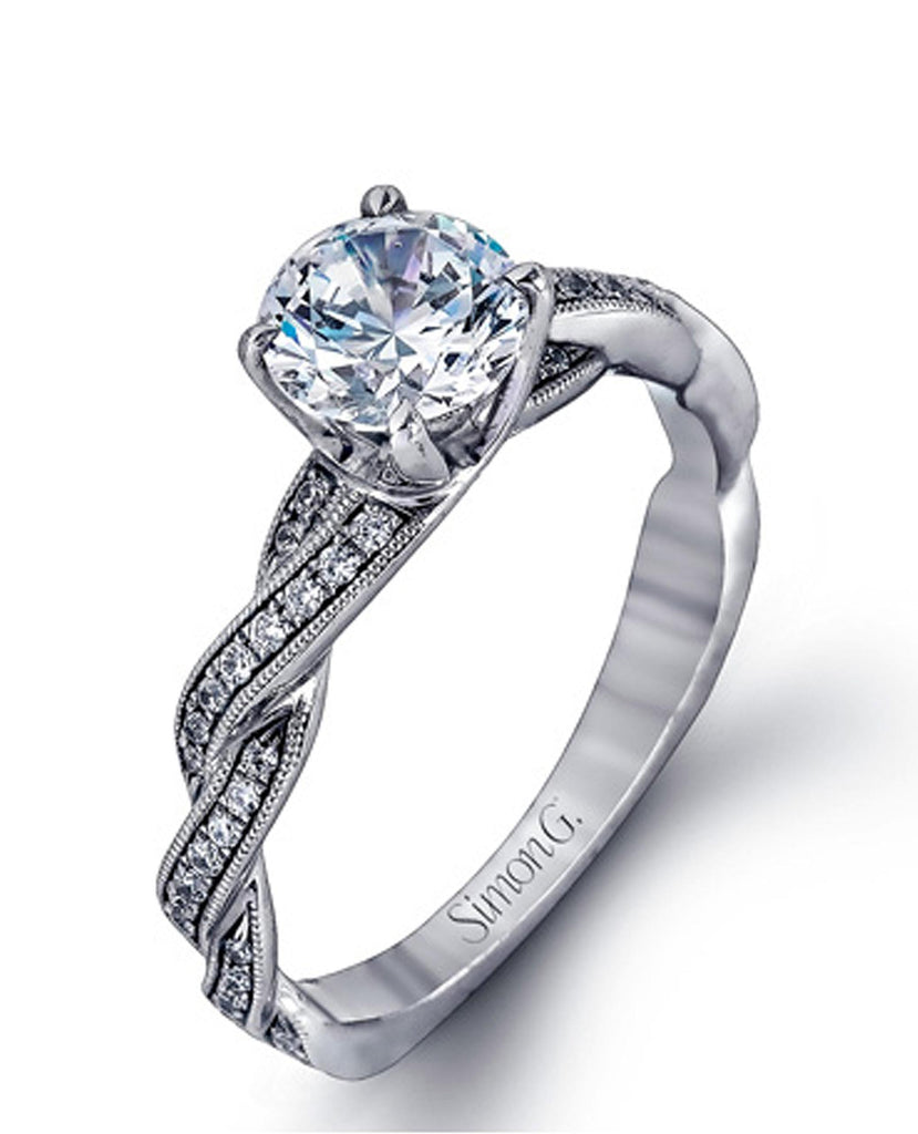 Simon G. MR1498 Engagement Ring MR1498 (Choose free two-day shipping at checkout)