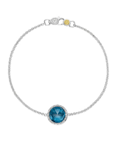 Tacori London Blue Topaz Bracelet SB16633 (Choose free two-day shipping at checkout)