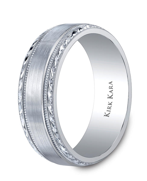 KIRK KARA ARTIN WEDDING BAND SS6974M-B