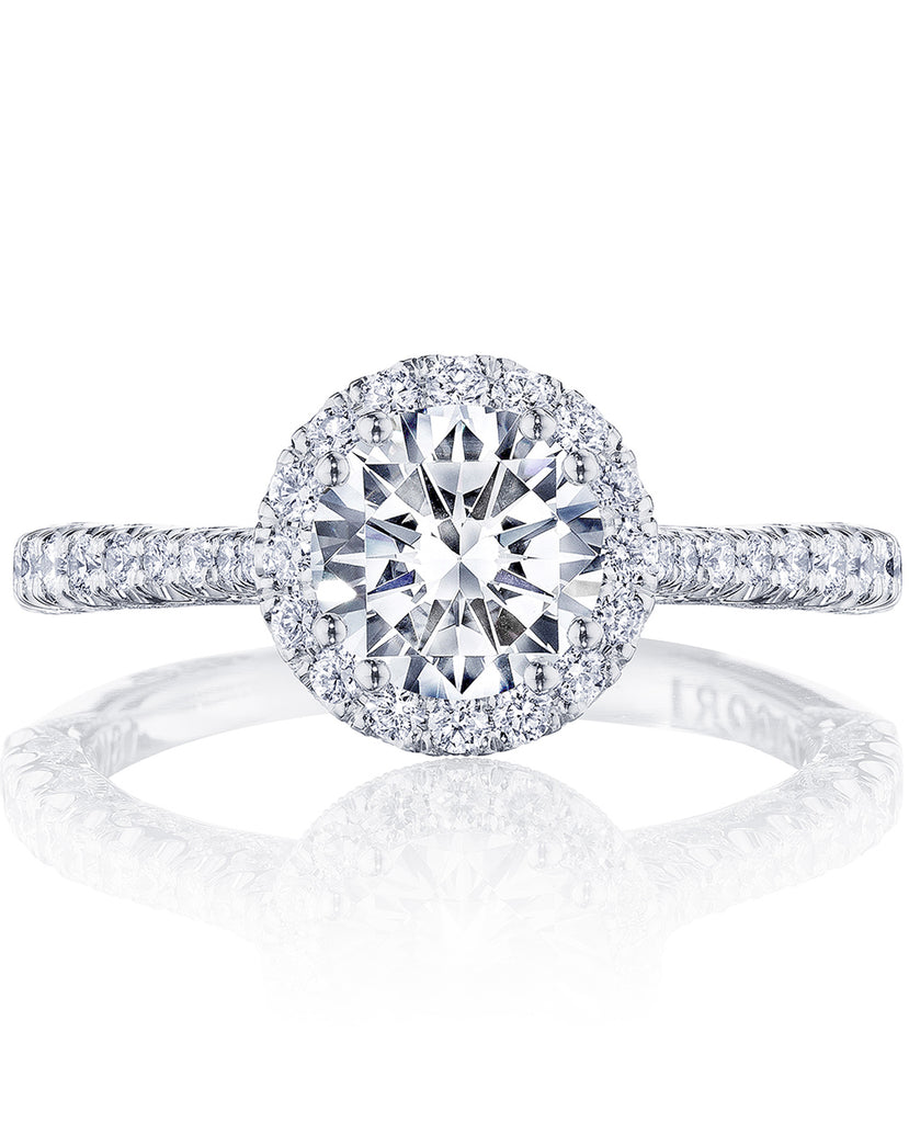 Tacori Petite Crescent Engagement Ring HT2571RD6.5 (Choose free two-day shipping at checkout)