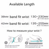 Silicone Sport Band, Strap for Apple Watch 1&2, 42 mm, 38mm Rubber Watchband