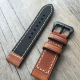 Handmade Quality Leather Strap for Apple Watch Series 1&2, 38mm, 42mm, Retro Leather