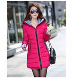 Wadded Jacket.  New Women's Winter Down Cotton Jacket. Parka Ladies Coat, Size S-XXXL