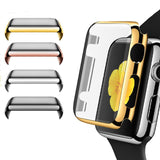 Full Coverage Screen Protector, Bumper for Apple Watch Series 1&2, 38mm, 42mm, Anti-Knock