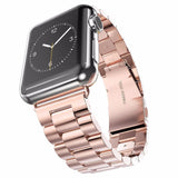 Premium Grade Stainless Steel Watchband for Apple Watch, 38mm, 42mm Link Bracelet with Adapter