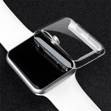 Apple Watch Protective HD Clear PC Screen Protector, Ultra Thin Cover Case