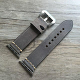 High Quality Handmade Leather Strap for Apple Watch Series 1&2, 38mm, 42mm, Retro Style