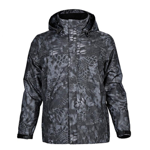 High Grade  Outdoor Tactical  Waterproof Jacket. Camping, Hiking Thermal Jackets, 2-piece plus Fleece