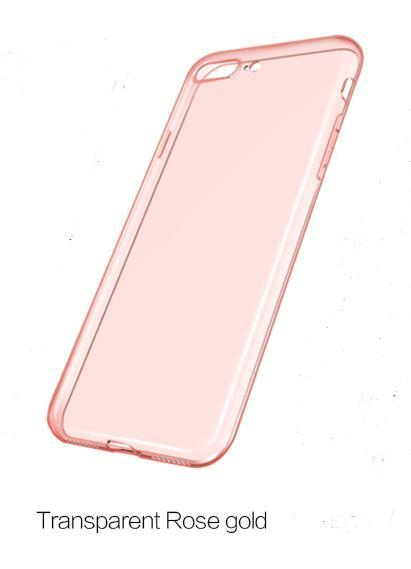 ace8f40617 Luxury Slim TPU Silicon Clear Case, 360 Transparent Silicon Cover for Apple  iPhone X,