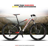 Men & Women Professional Mountain Bike, 30 Speed, Carbon Fiber MTB, Double Disc Brakes