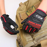 High Quality Tactical Gloves for Men. Full Finger Gloves for Cycling, Motorcycle and Hunting