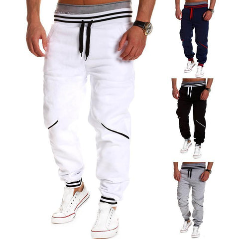 Casual Joggers - Harem Sweatpants for Men, Drop Crotch, Track Bottom