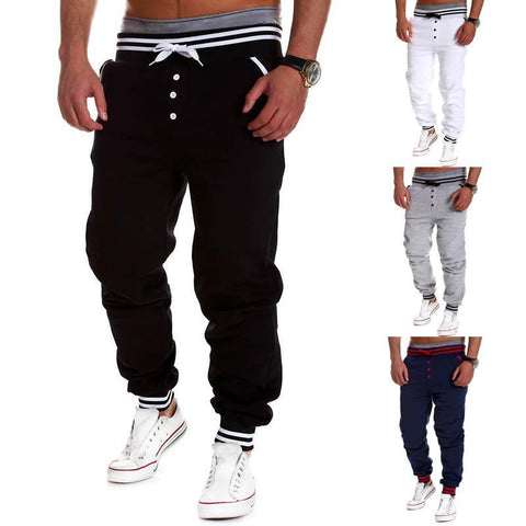New Fashion Style Men Casual Harem Sweatpants, Track bottom, Drop Crotch Leisure Pants, Joggers