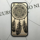 Vintage Floral Lace Full Edge Protection Case For iPhone 7, 6, 6S Plus, 5, 5s, SE