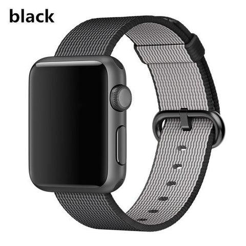 Quality Woven Nylon Fabric Sports Strap Band for Apple Watch 1,2 &3, 42 mm, 38mm