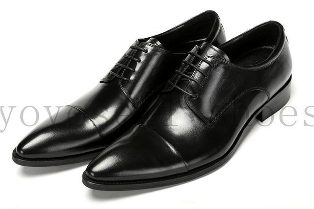 Men S Patent Leather Derby Dress Shoe For Wedding Office And Parties Long Haul Stuffs