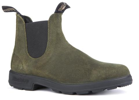 Blundstone 1615 Olive Suede