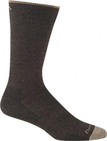 Darn Tough Socks Men's Solid 1617 Chestnut