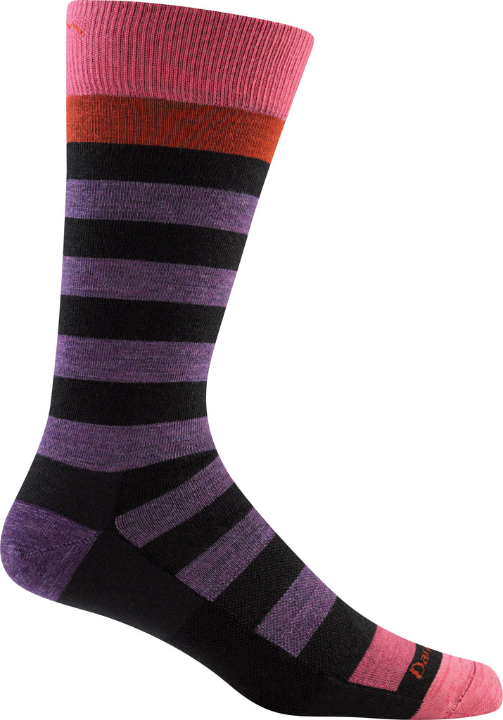 Darn Tough Socks Men's Warlock 1618 Bruise Black