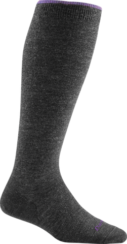 Darn Tough Socks Ladies Knee High 1648 Charcoal