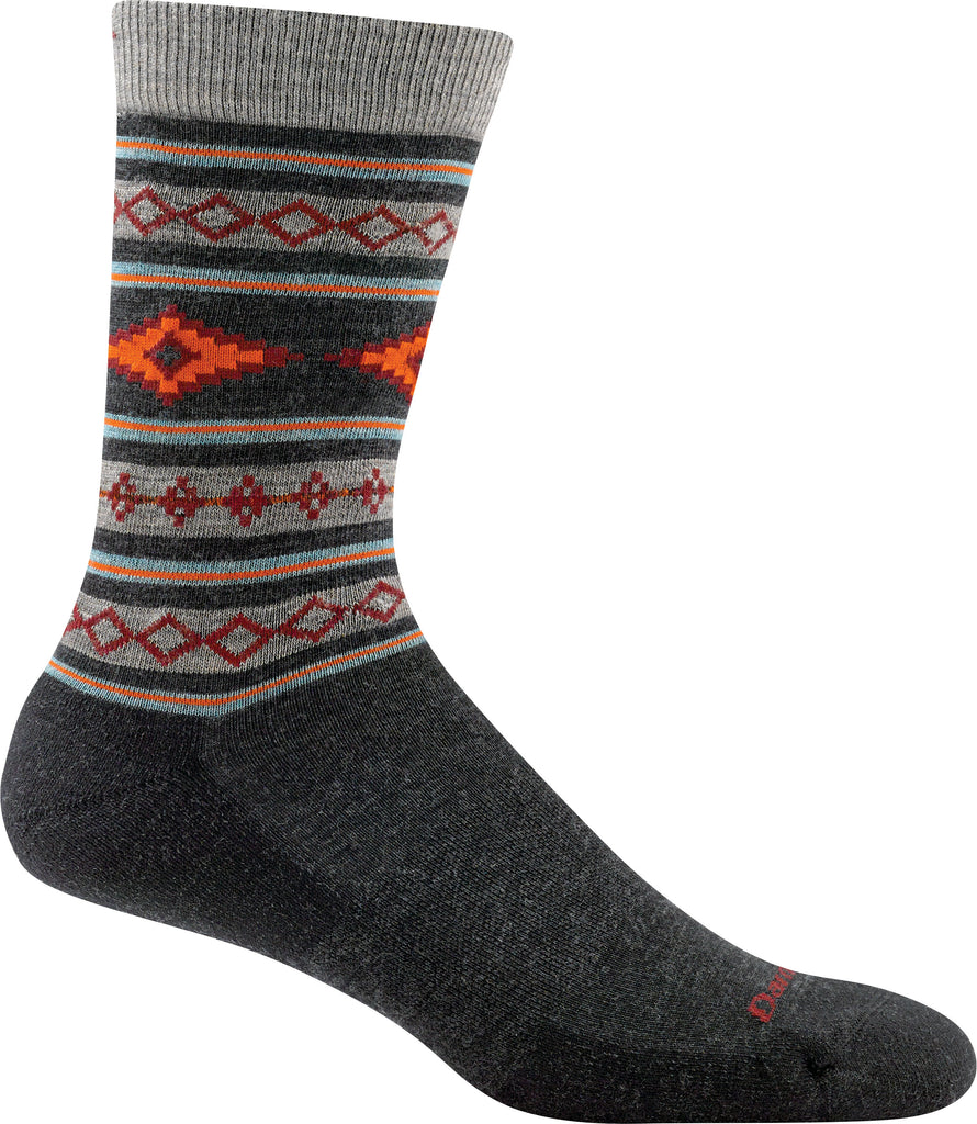 Darn Tough Socks Men's SantaFe 1658 Charcoal