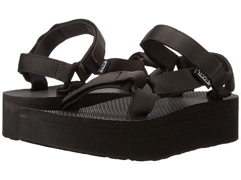 Ladies Teva FlatformU 1008844 Black