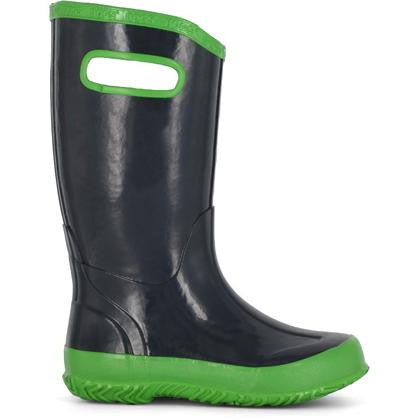 Kids Bogs RainBoots 71326 Navy Green