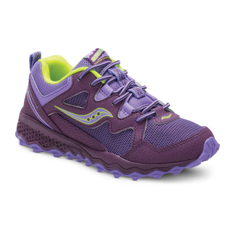 Kids Saucony Peregrine 159572 Purple
