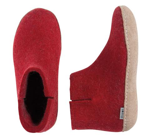 Glerups Ladies Boot Red