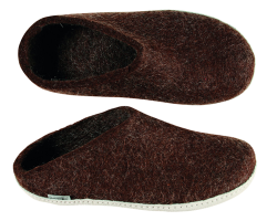 Glerups Men's Slipper Brown